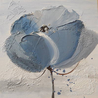 Painting - The Blue One by Betty-Anne McDonald