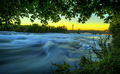 Photograph - The Blue River by Francisco Gomez