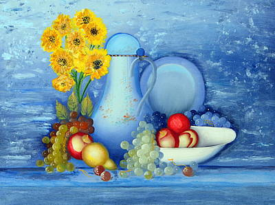 Painting - The Blue Room... by Tanya Tanski