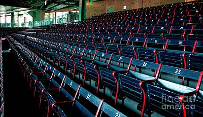 Photograph - The Blue Seats by Jonathan Harper