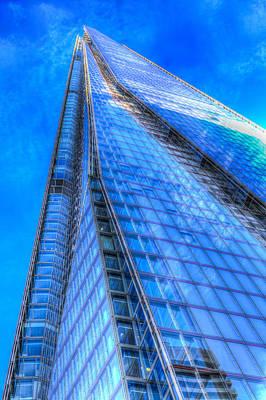 Photograph - The Blue Shard London by David Pyatt