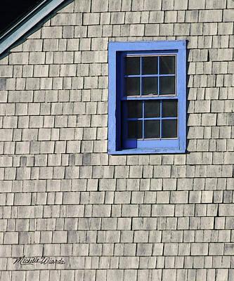 The Blue Window Art Print by Michelle Wiarda