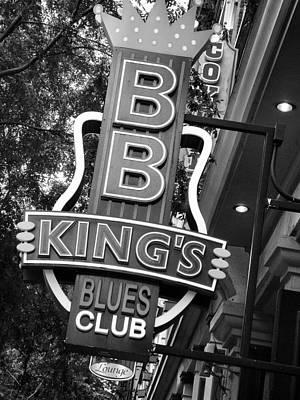 Bb King Photograph - The Blues 1 by David  Hubbs