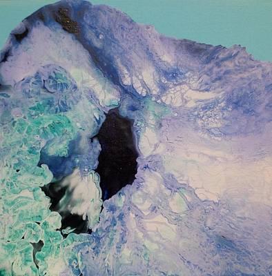 Blue Painting - The Blues 4 by Soraya Silvestri
