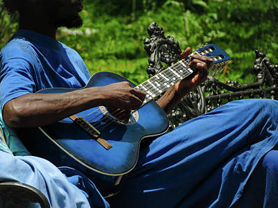 Photograph - The Blues by Michael Niessen