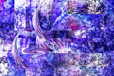Digital Art - The Blues Song - The Song Sailing by rd Erickson