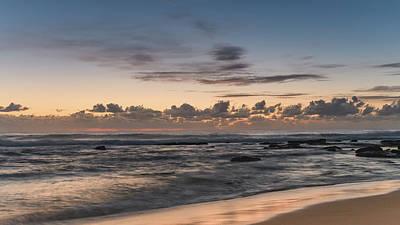 The Blues - Sunrise Seascape  Art Print