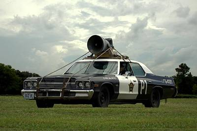 Photograph - The Bluesmobile by Tim McCullough