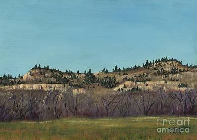 Painting - The Bluffs by Rosellen Westerhoff