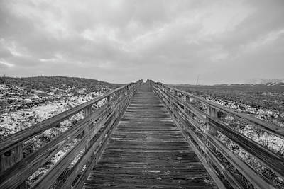 Photograph - The Boardwalk To The Shore  by John McGraw