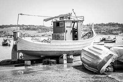 Photograph - The Boat by Andrew Matwijec