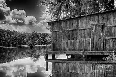 Photograph - The Boat House 2 by David Cutts