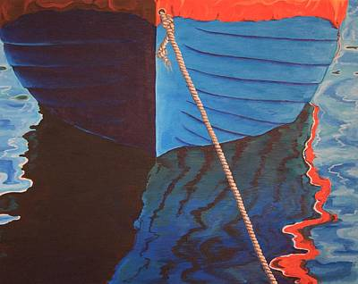 Painting - The Boat by Jennifer Lynch