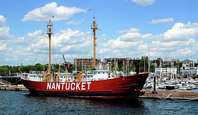 Photograph - The Lightship Nantucket by Corinne Rhode