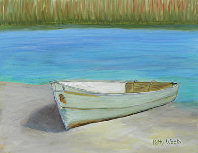 Painting - The Boat by Patty Weeks