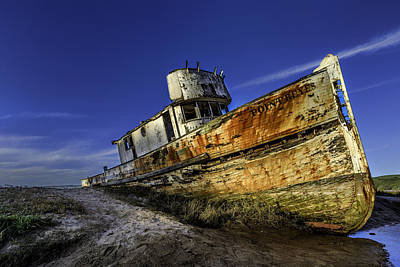 Photograph - The Boat Up Close by PhotoWorks By Don Hoekwater