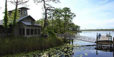 30a Photograph - The Boathouse At Watercolor by Megan Cohen