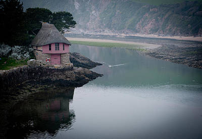 Photograph - The Boathouse by Helen Northcott