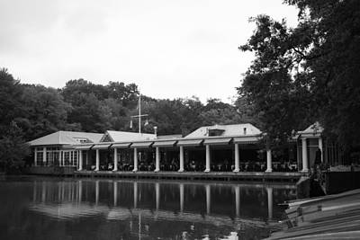 Photograph - The Boathouse In Central Park by Christopher Kirby