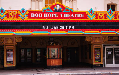 Photograph - The Bob Hope Threatre by Tikvah's Hope