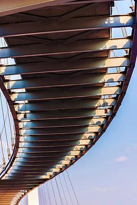Photograph - The Bob Kerrey Pedestrian Bridge 2 by Edward Peterson