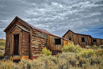 Photograph - The Bodie Bungalows by Lynn Bauer