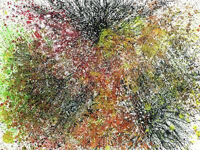 Fireworks Painting - The Body Of Light #513 by Rainbow Artist Orlando L aka Kevin Orlando Lau