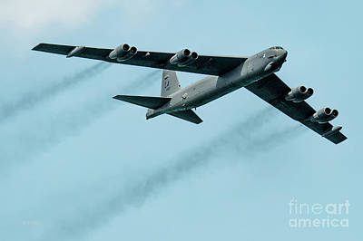 Photograph - The Boeing B-52 Stratofortress Bomber by Rene Triay Photography