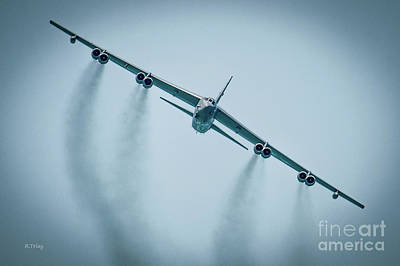 Photograph - The Boeing B-52 Stratofortress by Rene Triay Photography