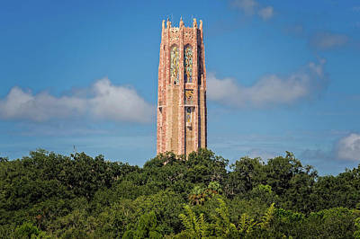 Photograph - The Bok Singing Tower At Bok Tower Gardens  -  Boktow909 by Frank J Benz