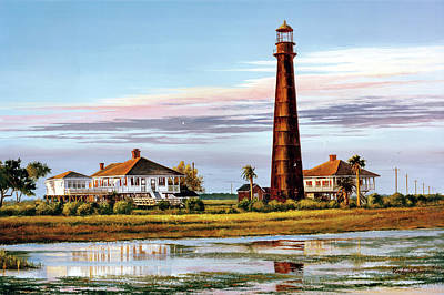 The Bolivar Lighthouse Art Print