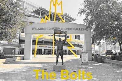 The Bolts Art Print
