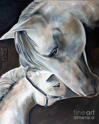 Painting - The Bond by Debbie Hart