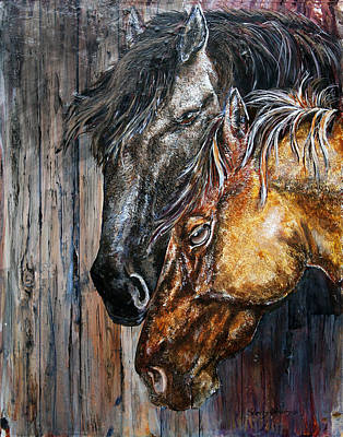 Painting - The Bond by Sherry Shipley
