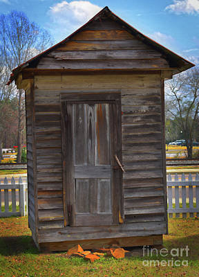 Blythewood Photograph - The Boney Milk Shed by Skip Willits
