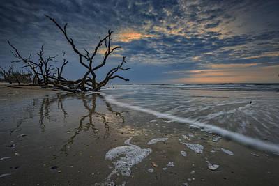 Photograph - The Boneyard Beach by Rick Berk