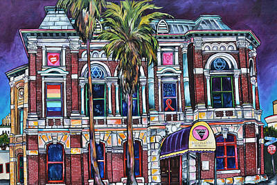 Painting - The Bonham Exchange by Patti Schermerhorn