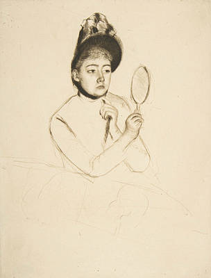 Relief - The Bonnet by Mary Cassatt