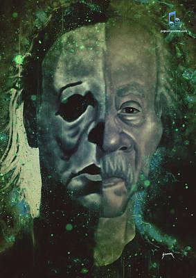Digital Art - The Boogeyman by Abraham Szomor