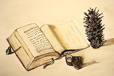 The Book Of Books. Art Print