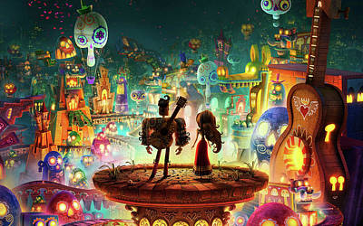 Book Of Life Digital Art - The Book Of Life 2014 Movie by Fran Soto