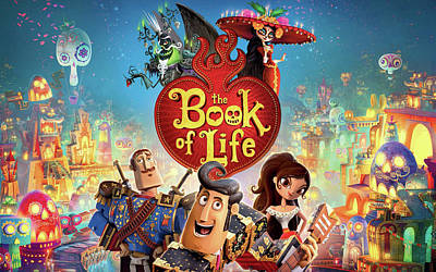Book Of Life Digital Art - The Book Of Life by F S