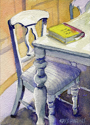 Painting - The Bookmark by Kris Parins