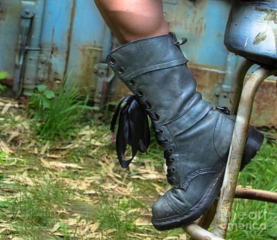 The Boot  Art Print by Steven Digman