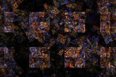 Borg Digital Art - The Borg In Stained Glass - Star Trek by John Prause
