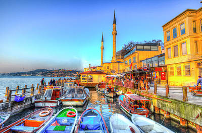 Photograph - The Bosphorus Istanbul by David Pyatt