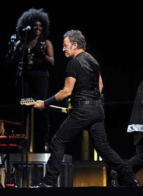 Bruce Springsteen Photograph - The Boss 36 by Rafa Rivas