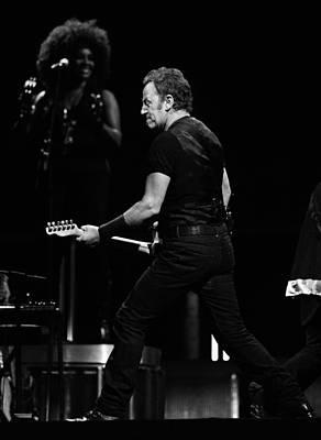 Bruce Springsteen Photograph - The Boss 37 by Rafa Rivas