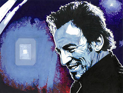 Bruce Springsteen Drawing - The Boss by Neal Portnoy