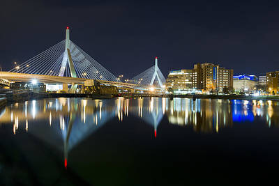 Charles River Photograph - The Boston Bridge by Shane Psaltis